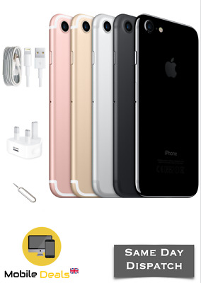 Apple iPhone 7 32GB 128GB 256GB Unlocked LTE iOS Smartphone SIM Free All Colours
