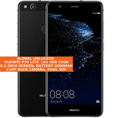 HUAWEI P10 LITE LX1 Global Version 4gb 32gb Dual Sim 12mp Android Smartphone Lte