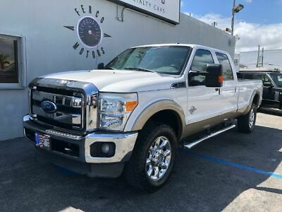 2012 F-350 Lariat Crew Cab Long Bed 4WD 2012 Ford F-350 SD Lariat Crew Cab Long Bed 4WD 98,468 Miles White CREW CAB PICK