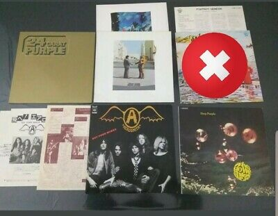 Lotto 15 Stampe JAPAN - Deep Purple, Genesis, Yes, ELP, Pink Floyd ecc.