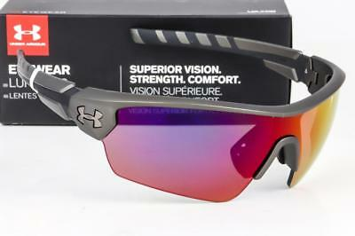 1ebe19b83985 NEW UNDER ARMOUR RIVAL SUNGLASSES UA Ceramic Charcoal / Infrared  Multiflection