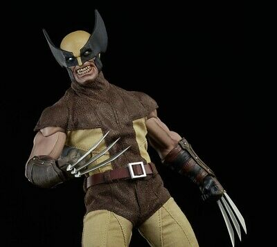 No Hot Toys X-Men The WOLVERINE Sixth Scale Action Figure NO Sideshow