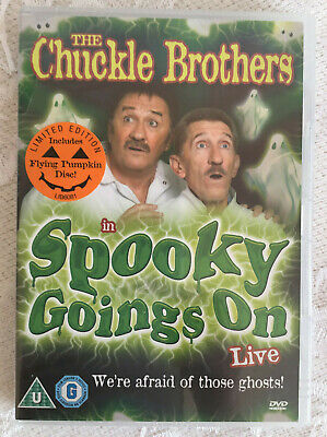 Chuckle Brothers: Spooky Goings On Live~Limited Edition~Reg.O/All.DVD~New~Freepp