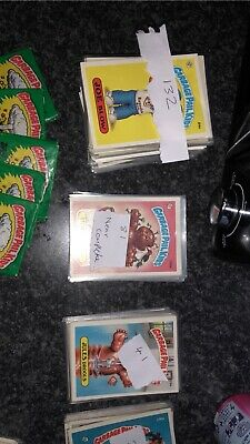 garbage pail kids Usa Os Job Lot Of 311 Cards Plus Wax Packs