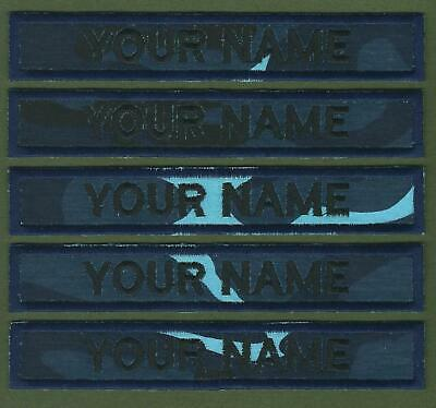 """5 X Camouflage Name Tapes Military Name Strips Army Name Tags""""We Make Any Size"""""""