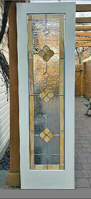 Beautiful Stained Glass Pocket Doors Interior