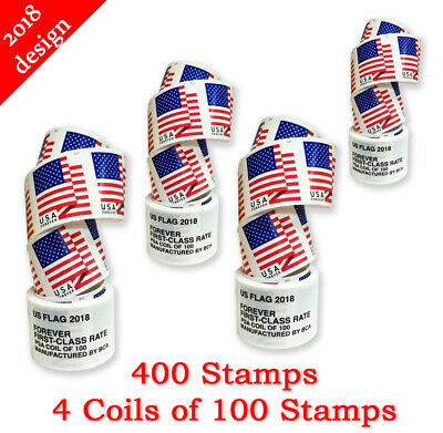 400 Usps Forever Stamps - Free Shipping!
