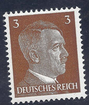 Nazi Germany Third Reich Nazi 1941 Adolf Hitler 3 stamp MNH WW2 ERA