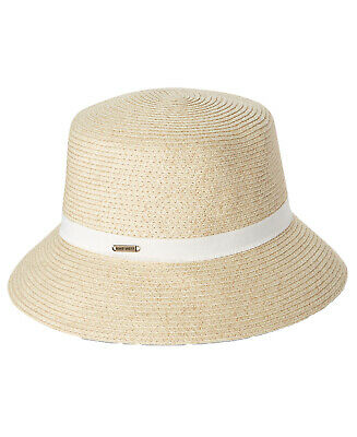 639a8245682f8 NINE WEST PACKABLE Microbrim Sun Hat Brown UPF protection +50 One ...
