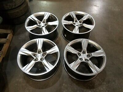 """20"""" Chevy 16 17 18  Camaro SS OEM staggered wheels rims OE 2016 2017 2018"""
