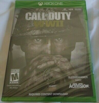 Call of Duty: WWII - Microsoft Xbox One - 2017 - Brand New & Sealed -Rated M 17+