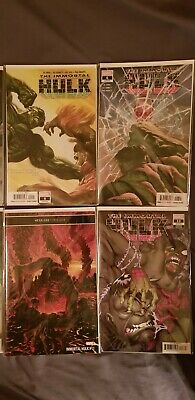 Immortal hulk issues 1 thru 11  13,14,15 all first prints and issue 12 2nd print