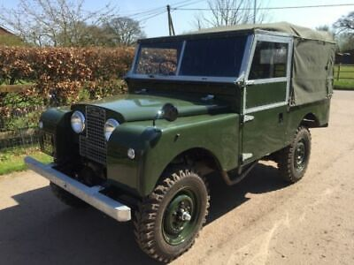 "1955 Land Rover Series 1 86""  Nut and Bolt Restored Land Rover Series 1 1955 86"""