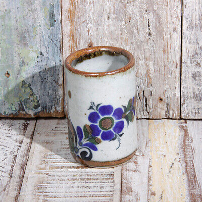 Mexican Stoneware Tequila Shot Flower