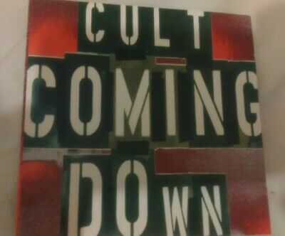The Cult Coming Down CD Single 4 Track 1994 Butcher Brothers