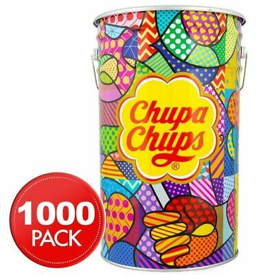 1000 x CHUPA CHUPS UNITS APPROX PER TIN FREE DELIVERY METRO - Wholesaler Direct