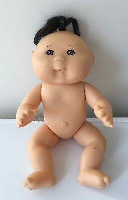 MATTEL'S FIRST EDITION 1995 Cabbage Patch Doll 33cms Asian brown eyes hair