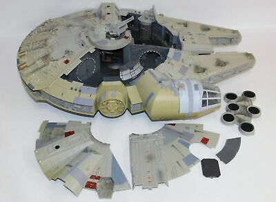 Star Wars Legacy Collection Millennium Falcon Electronic WORKS! 2008 Hasbro