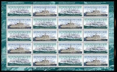 Canada Stamp #1763-1762 - Canadian Naval Reserve (1998) Full Pane 20 x 45¢ MNH
