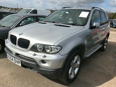 04 Bmw X5 3.0 Sport - 10 Stamps, Leather, Satnav, Climate,heated Seats