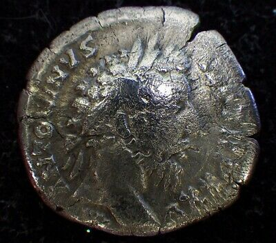 Ancient ROMAN COINS (SILVER)       MARCUS AURELIUS       (the Great Philosopher)