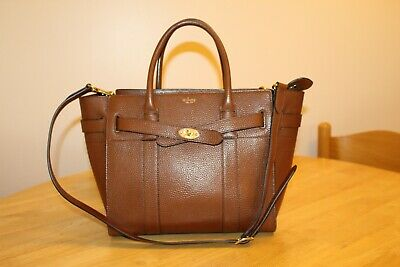 f4df322bfe Genuine Mulberry Small Zipped Bayswater in Oak (Tan/Brown) RRP £995