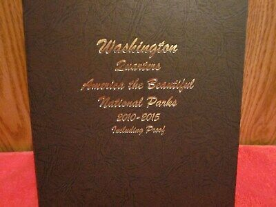 Complete 2010-2015 American National Parks Quarters Bu/proof/silver Proof