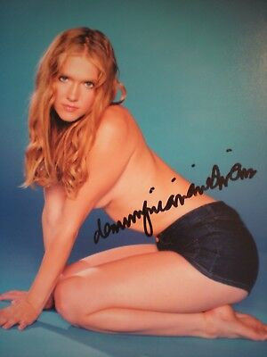 """Young -Beautiful And Sexy Hand Signed Photo Of Dominque Swain-""""Lolita"""" -Coa"""