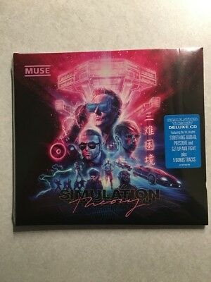 """Muse """"SIMULATION THEORY"""" Deluxe Edition CD (w/5 Bonus Tracks)(New 2018 Release)"""