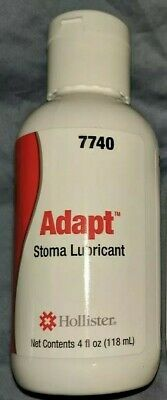 *NIB* 3 Bottles* Hollister Adapt Stoma Lubricant, 4oz each, Ref# 7740. **SALE**!