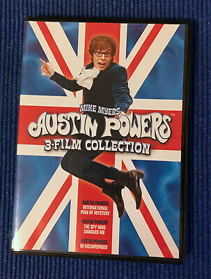 Austin Powers 3-Film Collection - DVD - like new