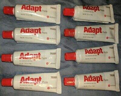*NEW* 8 TUBES of Hollister Adapt Paste, .5 Travel Size.Ref#79301. Free Shipping!