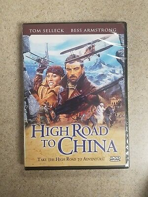 High Road to China TOM SELLICK (DVD, 2012)