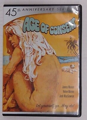 Mill Creek AGE OF CONSENT - DVD In Case
