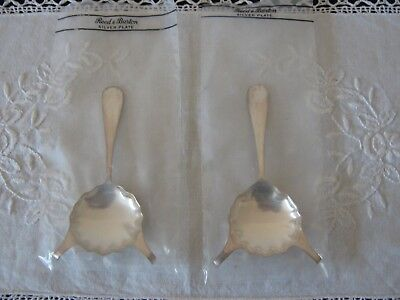 Reed & Barton Two Silverplate Brandy Warmers Adlers New Orleans New in Packages