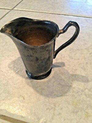 Grand Silver Company Wear-Brite Nickle Silver Cream Pitcher Creamer