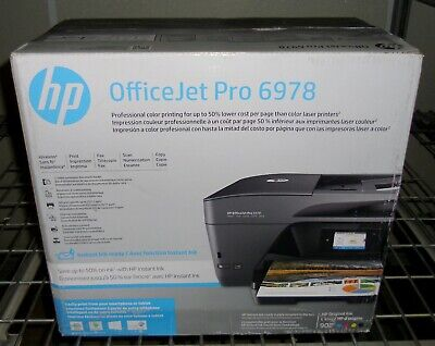 NEW HP OFFICEJET Pro 6978 All-in-One Wireless Inkjet Printer w/ Mobile  Printing