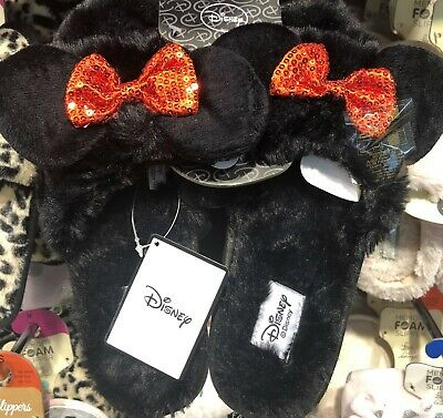 Brand New With Tags Primark Women's Disney Minnie Mouse Slippers