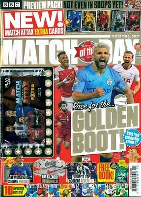 MATCH OF THE DAY MAGAZINE #554  5 - 11th MARCH 2019 ~ NEW ~