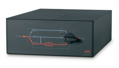 NEW in box! APC By Schneider Electric SBP16KP Service Bypass Panel Switch 20 Kva