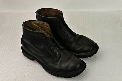 bottines souliers chaussures militaires belges (ABL) military boots vintage t 43