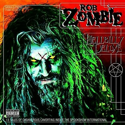 ROB ZOMBIE Hellbilly Deluxe BANNER HUGE 4X4 Ft Fabric Poster Flag Tapestry art