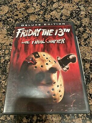 Friday the 13th - Part 4: The Final Chapter (DVD, 2009, Deluxe Edition)