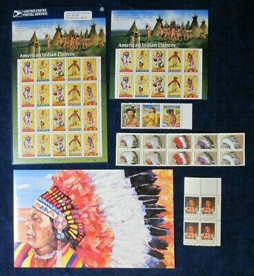 #3072 Native American Indian Dance Sealed MNH Sheet Stamps USPS Chief Joseph