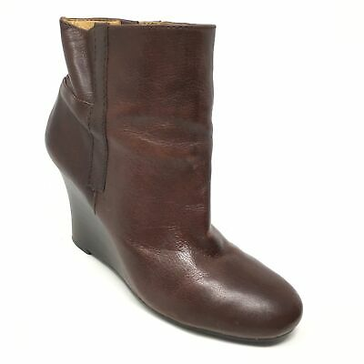 f1fb52ba7ab NINE WEST VINTAGE America I Heart NY Boot Dark Brown Womens 8.5 New ...