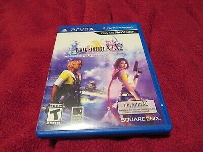 Final Fantasy X/X-2 HD Remaster PS Vita NO CODE FFX ONLY Great Condition 10 10-2