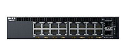 Dell X1018P 16 port PoE switch, Managed, Rack-mountable (ex demo)