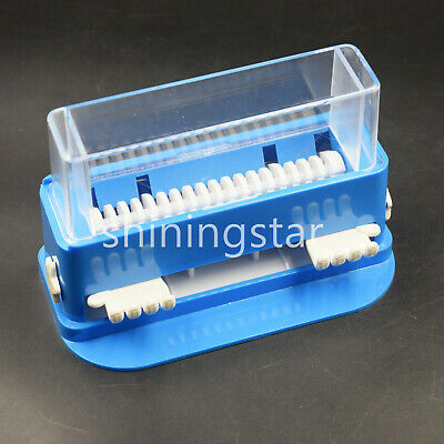 Dental Cotton Tip Micro Brush Applicator Dispenser Container Holder Microfiber
