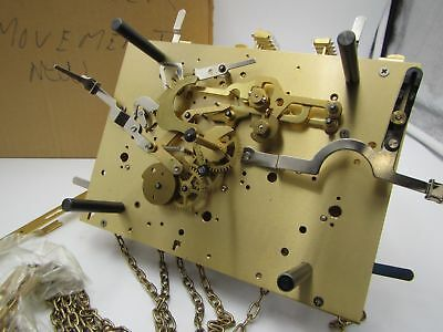 Kieninger Grandfather clock movement Triple Chimer NOS chain driven SET OF 1