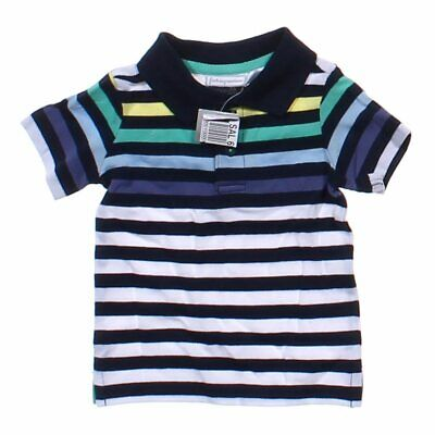First Impressions Baby Boys  Striped Polo Shirt, size 3 mo,  black, blue/navy